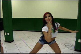 Alini Gama, dançarina assassinada, participava de projeto social no ES - Dançarina apareceu em uma reportagem da TV Gazeta.