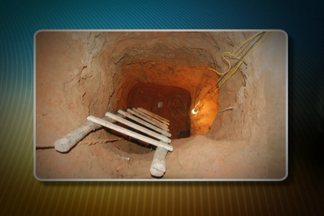 Polícia descobre túnel de 20 metros que ligava casa à penitenciária no MA - A polícia descobriu um túnel com luz e ventilador, que ligava uma casa ao maior presídio do estado do Maranhão. Os presos pretendiam fugir hoje à noite.