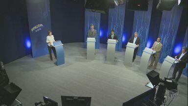 EPTV realiza debate com os candidatos à Prefeitura de Piracicaba - O debate durou 1 hora e teve como participantes os cinco candidatos de partidos que tem representação na Câmara Federal ou no Senado, como determina a lei eleitoral.