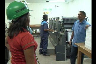 Mulheres ocupam cargos de chefia em Itaituba - Técnica em segurança do trabalho lidera colegas homens. De acordo com o Conselho de Mulheres Empresárias, as mulheres que trabalham ocupam cargos de chefia.