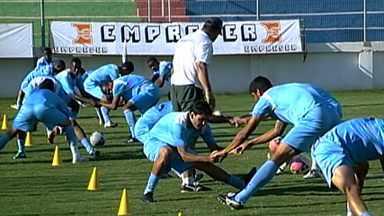 Nacional se prepara para jogo da próxima semana pela Taça Minas Gerais - Time de Nova Serrana vai encarar o Boa Esporte.