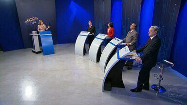 TV Globo Minas realizou debate entre candidato à Prefeitura de Belo Horizonte - Emissoras afiliadas à Rede Globo também promoveram debates em outras sete cidades mineiras.
