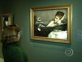 Exposição de mestres impressionistas em São Paulo continua pela madrugada - Mesmo com a chuva que caiu nesta sexta-feira (5) em São Paulo, muita gente foi ver as obras vindas da França. O tempo de espera é de uma hora e meia, em média. É a última oportunidade, neste fim de semana, de ver as pinturas.