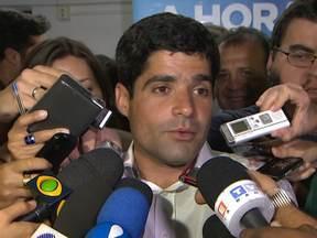 ACM Neto fala sobre a busca de apoio para o segundo turno - No primeiro turno, o candidato foi o mais votado para a prefeitura de Salvador, e no segundo turno enfrenta o candidato Nelson Pelegrino.
