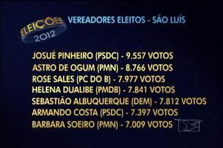 A partir do próximo ano, a câmara municipal de São Luís passará a ter 31 vereadores - Veja a lista dos vereadores eleitos neste domingo na capital.