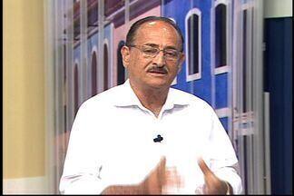 Nozinho Correa, prefeito eleito de Linhares, é entrevistado no ESTV 1ª Edição Norte - Candidato do PDT foi eleito.