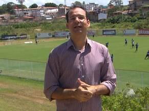 Com atacantes machucados, Jorginho treina com Cláudio Pitbull - No treino coletivo, técnico do Bahia fez ajustes no time. Tricolor se prepara para enfretar o Fluminense na próxima quarta-feira, em Pituaçu.