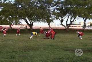 Sergipe Bravos é destaque no cenário nacional - O time de futebol americano do estado está entre os quatro melhores do nordeste, classificação para a seminifnal foi conquistada fora de casa, batendo o time de Alagoas por 23 a 7.