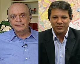 Confira agenda dos candidatos à Prefeitura de São Paulo - Os candidatos aproveitaram a segunda-feira (8) para fazer campanha para o segundo turno das eleições deste ano.