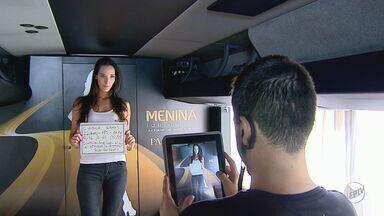 Ônibus para encontrar Menina Fantástica passa por Ribeirão - Amanhã veículo estará em Batatais.