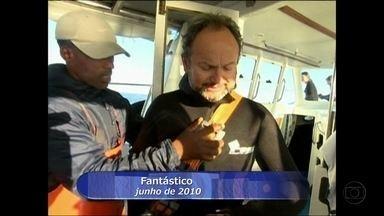 Ernesto Paglia já visitou 60 países a trabalho - Conheceu o verão gelado da Antártida e a temperatura de águas vulcânicas