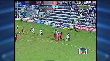 Guará perde para o ASA de Alagoas - Pela Série B, o Guará decepciona e perde para o ASA de Alagoas.