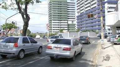 AMC altera trânsito no cruzamento das avenidas Jovita Feitosa e Humberto Monte - Entenda como funciona a alteração.