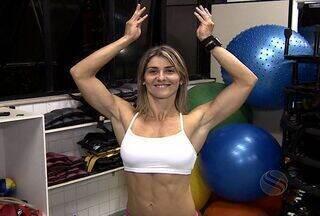 Conheça a fisiculturista sergipana Andrea Mesquita - A atleta de 32 anos de 1,57m vai representar Sergipe no Miss Universo de Fisiculturismo na Inglaterra. A sergipana que tem 56,5 kg e apenas 8% de gordura corporal concorrerá numa categoria que além dos músculos a simpatia é fundamental.