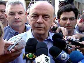 Confira como foi o dia de campanha de José Serra à prefeitura de SP - O candidato do PSDB se prepara para disputar o segundo turno das eleições com o candidato Fernando Haddad, do PT.