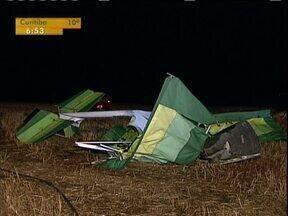 Enterrado o corpo do piloto do ultraleve que caiu em Londrina - A Polícia Civil vai investigar as causas do acidente