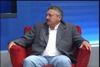 Prefeito eleito de Farias Brito dá entrevista ao CETV - Ele foi reeleito neste mês.