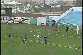 Crac empata com o Sampaio Corrêa por 1 a 1 no primeiro jogo da final da Série D - Genervino da Fonseca recebeu ótimo público, em jogo com muita chuva e muito movimentado.
