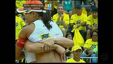 Sede do Governo de Minas recebeu jogos de vôlei de praia no final de semana - Jogos foram em Belo Horizonte pelo Circuito Brasileiro de Vôlei de Praia