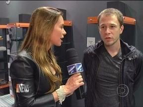 Vídeo Show News: Quinta edição do Brasil Games Show agita São Paulo - Tiago Leifert é um dos famosos presentes no evento