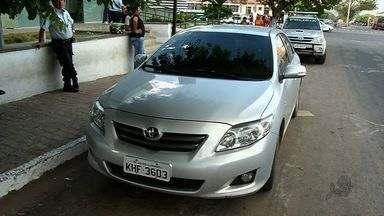 Homem é preso com carro clonado no Cariri - Adolescente foi apreendido com motos roubadas.