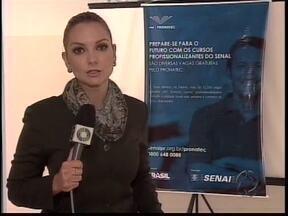 Cursos de graça no SENAI - O SENAI oferece cursos em várias cidades da região para quem quer entrar ou retornar ao mercado de trabalho