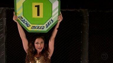 Ring Girl ensina as regras do MMA: Macho Mixed Arts - Oito lados, dedo no olho... Tudo o que pode e que não pode
