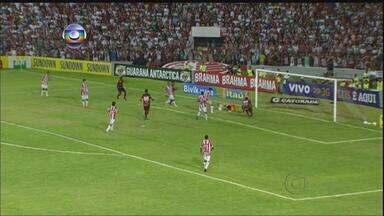 Sport empata com o Figueirense e Náutico perde do Flamengo na rodada do futebol - Jogo do Leão terminou sem gols. Já o Timbu perdeu por um a zero do rubro-negro carioca.