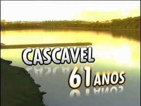 Cascavel comemora aniversário nesta quarta-feira (14) - A cidade vai completar 61 anos amanhã!