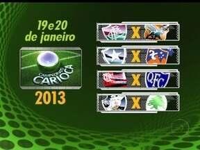 Primeiros confrontos são definidos para o Campeonato Carioca 2013 - Fluminense irá estrear contra o Novas Iguaçu e Botafogo vai enfrentar o Duque de Caxias. O primeiro clássico será no dia 27 de Janeiro entre o Tricolor e o Alvinegro.
