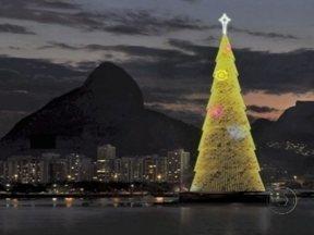 Árvore da Lagoa terá 85 metros de altura - A árvore terá três milhões de microlâmpadas. A inauguração será no dia 1º de dezembro, às 20h. Quem for conferir, poderá assistir a apresentação do espetáculo 'O mágico de Oz'.