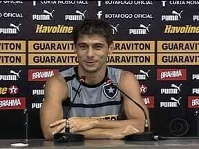 Fellype Gabriel diz que ficou surpreso com a convocação para a Seleção Brasileira - Meio-campo do alvinegro promete dedição para o amistoso da Seleção.