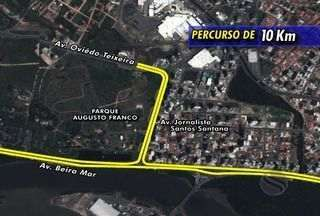Confira os percursos da Volta de Aracaju - A corrida já tradicional no estado vem com uma novidade este ano, dois percursos, um de 5 e outro de 10km, confira o trajeto da competição.