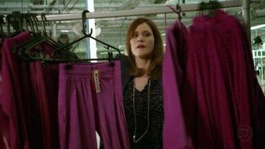 Veruska confirma que as peças da Positano estão com defeito - Ela fica feliz
