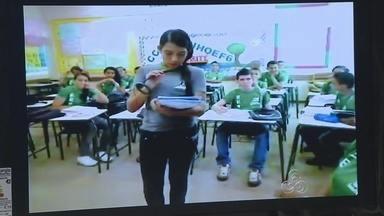 Projeto que ensina meios de sustentabilidade em escolas será lançado na Amazônia - Um projeto que ensina meios de sustentabilidade em escolas será lançado na Amazônia. É o Florestabilidade, fruto de parceria entre a Fundação Roberto Marinho e a Fundação Vale, com apoio do Serviço Florestal Brasileiro.
