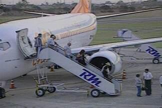 Aeroporto João Suassuna, em Campina Grande, passará por reforma - Obejtivo da reforma é oferecer mais segurança para passageiros e atrair e outros voos para Campina Grande.