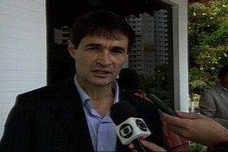 Romero Rodrigues se reúne com Ricardo Coutinho para discutir projetos para Campina Grande - Prefeito eleito de Campina Grande se encontrou com o governador da Paraíba a portas fechadas.