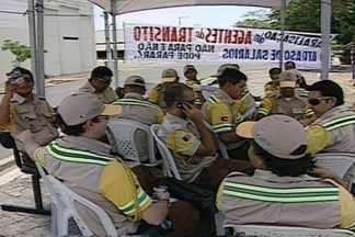 Agentes de trânsito da STTP decidem paralisar atividades em Campina Grande - Trabalhadores alegam que estão sem receber salário desde dia 07 de novembro.