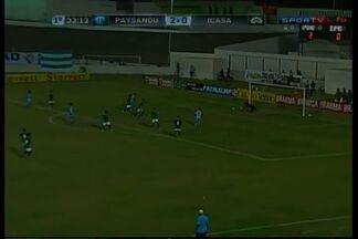 Kiros amplia e marca o terceiro do Papão! - Paysandu abre 3x0 contra o Icasa.