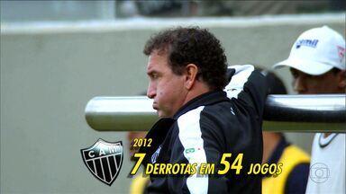 Contrato do treinador do Atlético-MG, Cuca, é renovado - Cuca fica na cidade do Galo por mais um ano.