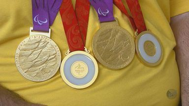 Alunos de Escola Estadual em São Carlos conheceram o medalhista paraolímpico Dirceu Pinto - undefined