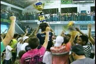 Campeão da Taça RBS de Futsal é o Arvorezinha - Jogo final teve o placar de dois gols do time contra um do CMD Carazinho