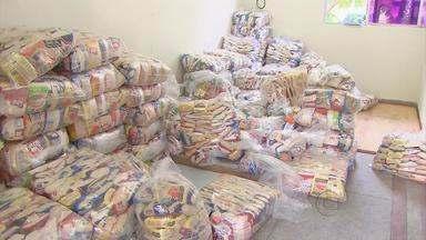 Alimentos arrecadados no Passeio Ciclístico da Globo NE são doados a abrigos e creches - Os produtos foram doados por cerca de 9 mil pessoas que participaram do evento e serão encaminhados a instituições de caridade da Região Metropolitana do Recife.