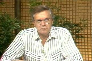 Globo Rural dedica edição ao jornalista Joelmir Betting - O jornalista entendia desde futebol até macroecomomia, e sabia também das coisas do campo. Entre 1985 e 1987 ele fez comentários na bancada do Globo Rural. Joelmir Betting morreu aos 75 anos, esta semana, em São Paulo.