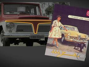 Oscar Niemeyer é inspiração para modelos de automóveis dos anos 60 - O maior arquiteto brasileiro também deixou sua marca nos automóveis. Detalhes foram inspirados em obras de Oscar Niemeyer.