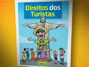 Cartilha reúne os direitos do turista - A cartilha da Associação Brasileira da Defesa do Consumidor reúne os cuidados que o passageiro deve ter. O consumidor deve entrar na justiça caso reclamações não façam efeito.