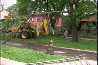 Temporal causa prejuízos em Cruz Alta - Bairros ficaram sem energia elétrica e sem água durante toda a terça-feira