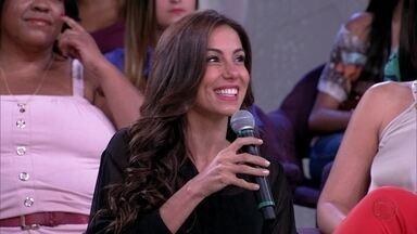 Tânia Khalill sobre oficializar o casamento: 'Teve um alívio da família' - Atriz e o cantor Jair Oliveira moraram juntos cinco anos antes de casar