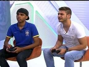 Simulação no videogame dá título do Mundial ao Corinthians - Os dois melhors jogadores de videogame no Brasil fazem uma disputa entre Chelsea e Timão.