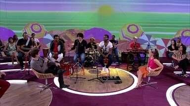 Banda Sambô surgiu em festas de aniversário - Grupo escolhe o repertório a partir dos pedidos e das músicas que eles gostam